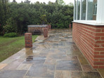 Lingfield Patio After